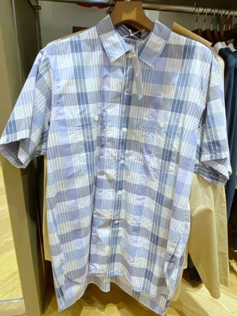 alt=tェックシャツ
