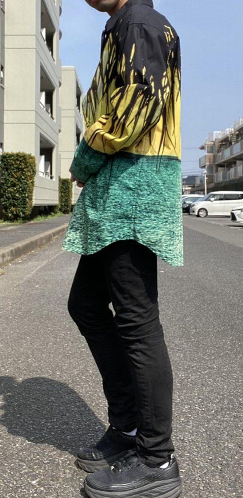 alt=メンズ ファッション 黒 スキニー