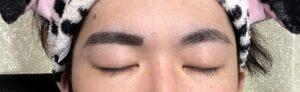 メンズメイク 眉毛 書き方